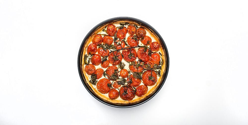 VMG VALGO: Alfo gimtadienio pomidorų pyragas, vmg receptas