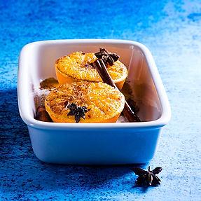 Saldžiai ir lengvai TOP10: kepti apelsinai, uogų putėsiai ir troškintos kriaušės su šokoladu