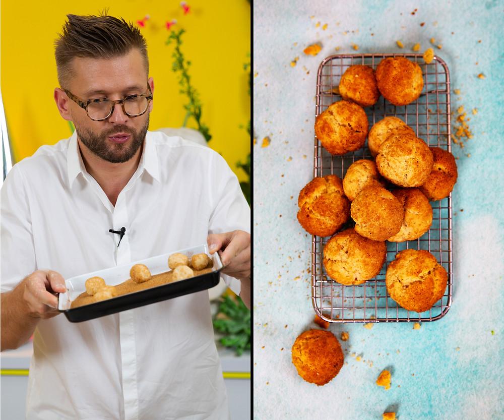 Alfo receptai, cinamoniniai sausainiai, kepiniai