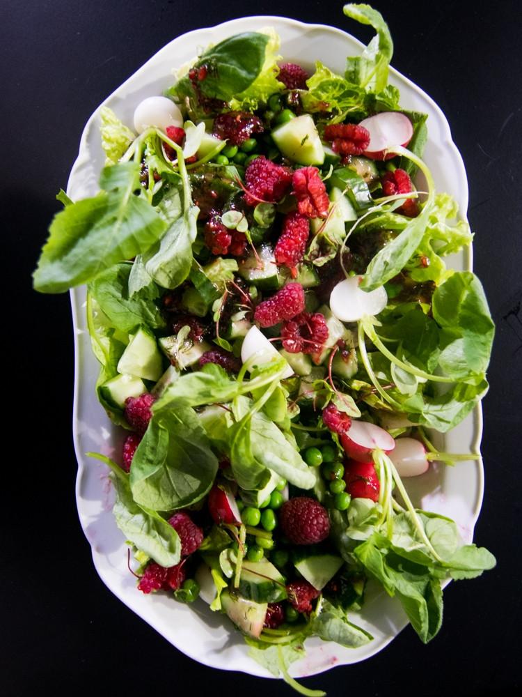 pavasariškos salotos, VMG receptai