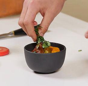 Keptų morkų užtepėlė su skumbre