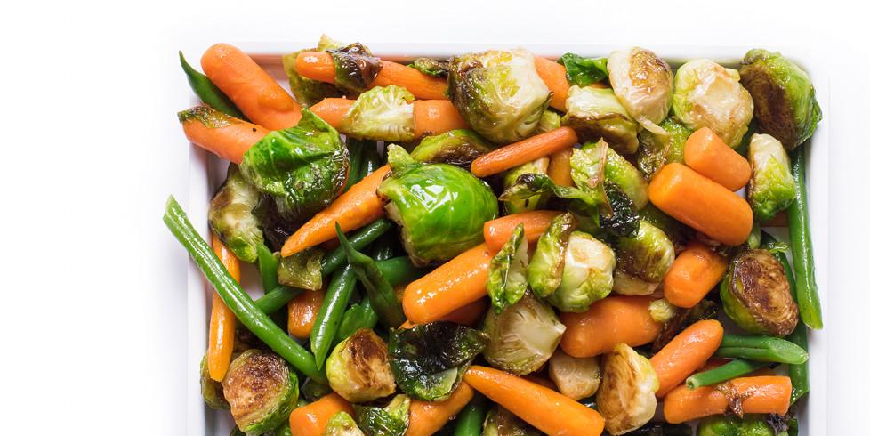 Daržovių garnyras, vmg receptas