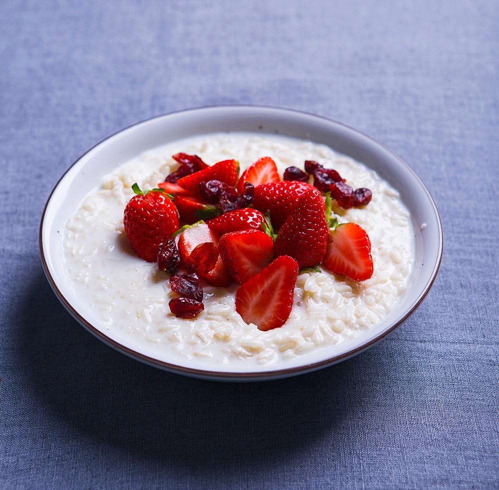 ryžių pudingas, VMG receptai
