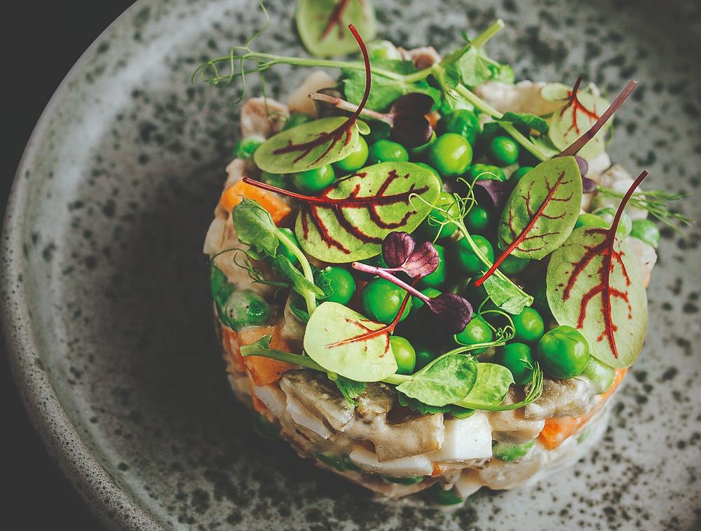 Balta mišrainė, tuno majonezas, receptas, Kalėdos, šventės