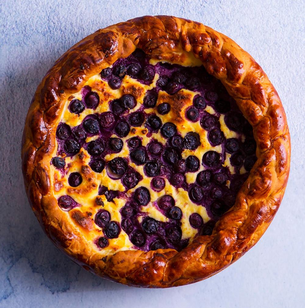 mielinis pyragas, Alfo receptas