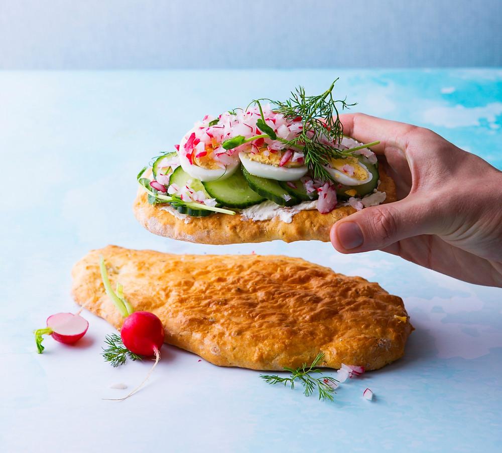 sumuštinis su ridikėliais, Alfo receptas