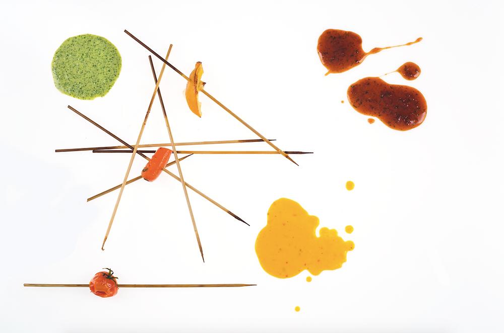 """""""Hoisin"""" padažas su citrinų žievelėmis prie iešmelių, vmg receptas"""