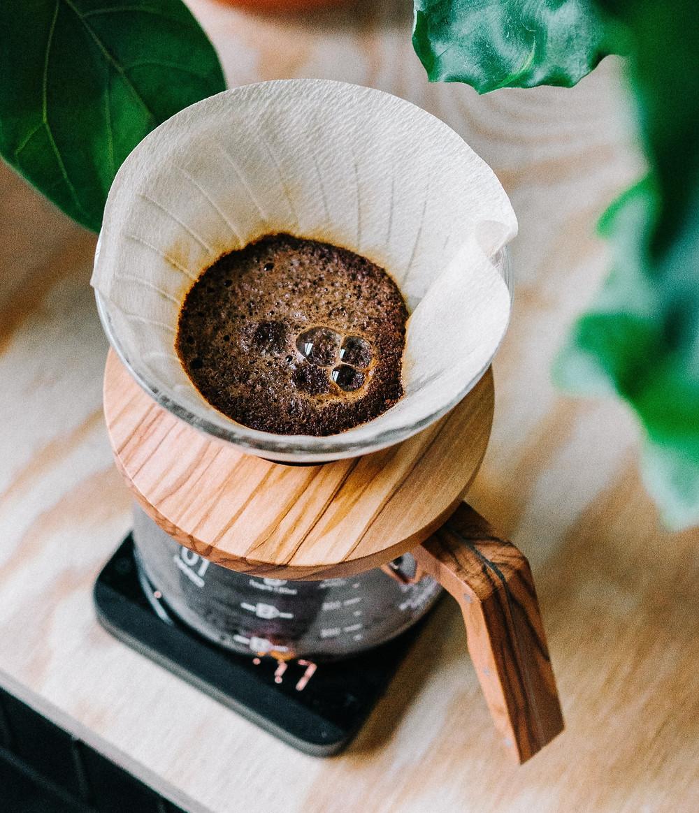 Patarimai, kavos tirščiai