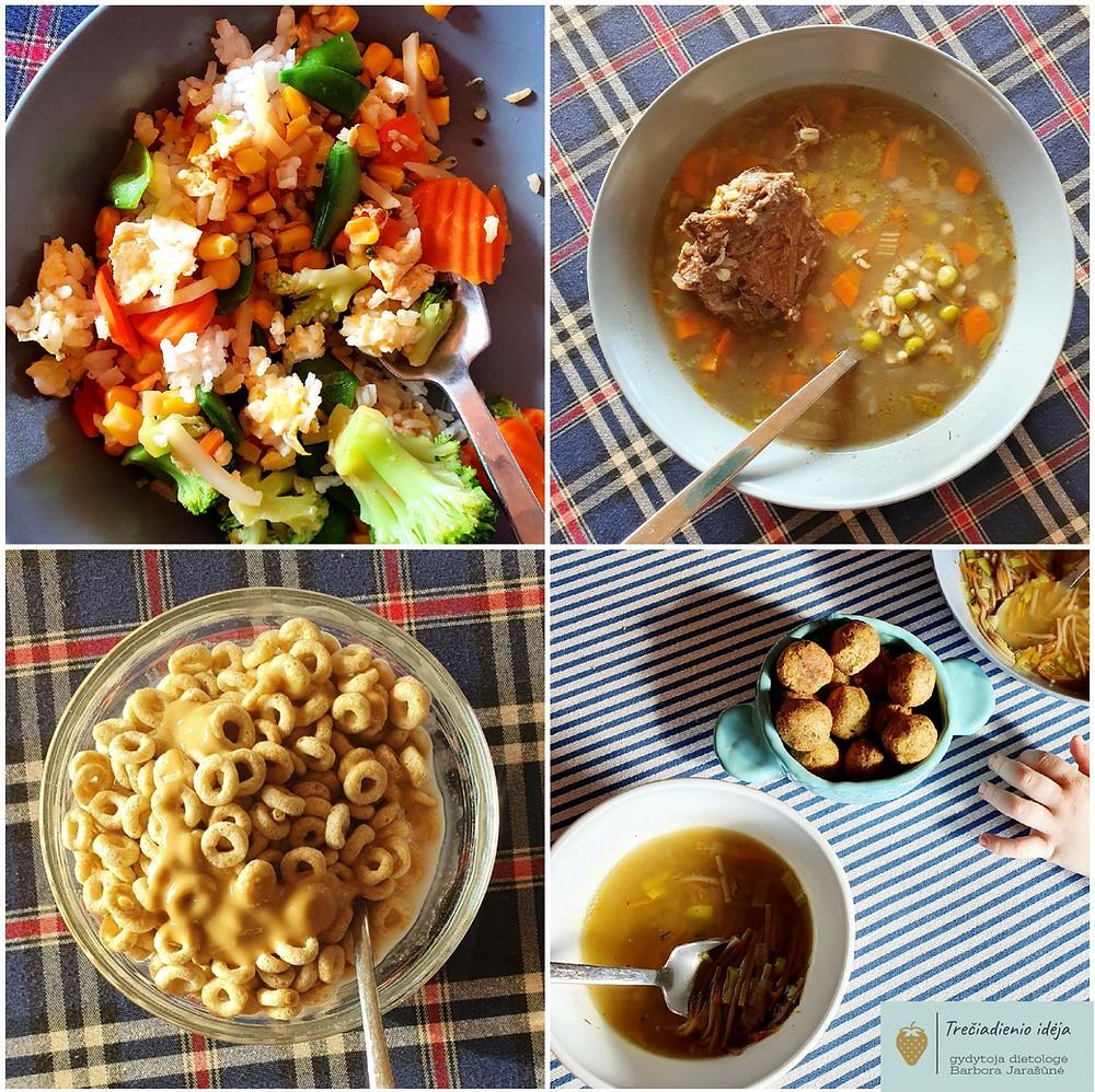 Gydytojos dietologės Barboros Jarašūnės receptas, kepinti ryžiai, sriuba ir sausi pusryčiai, vmg receptas