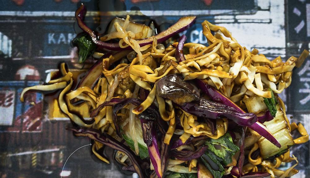 Makaronai su daržovėmis, vmg receptas