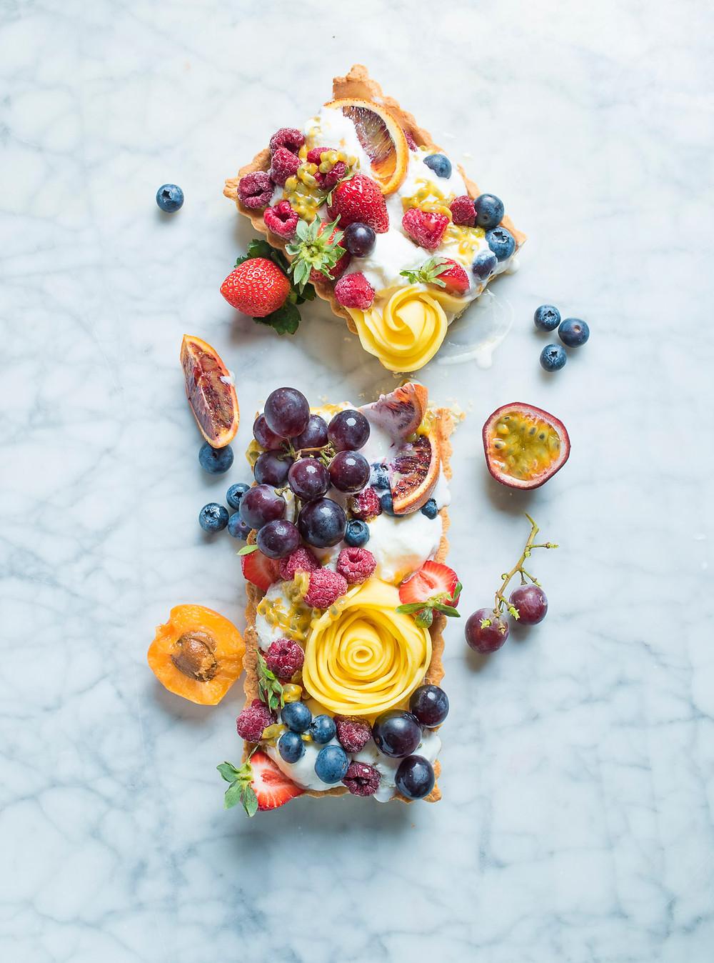 tarta su ledais, Alfo Ivanausko receptas