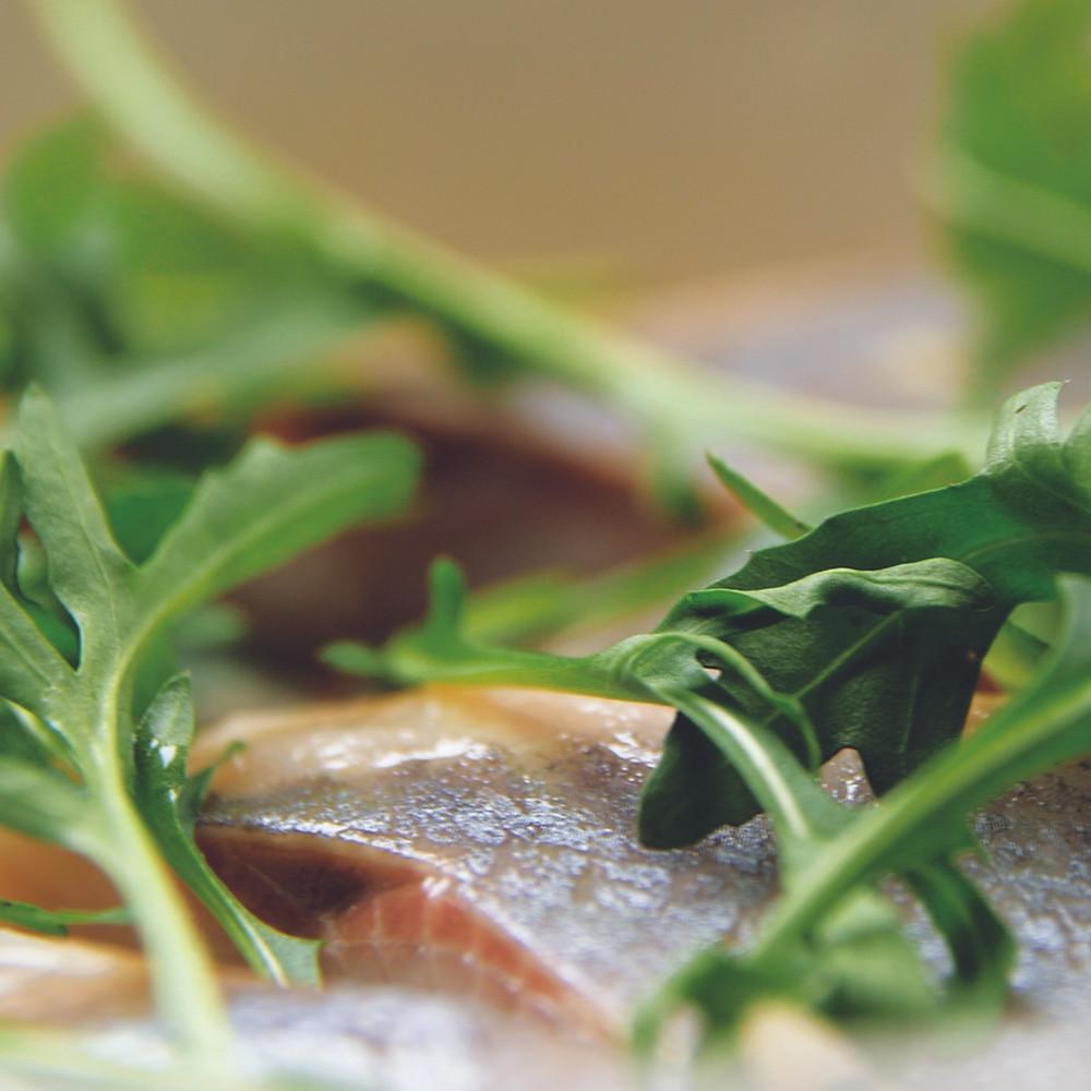 Salotos su silke ir topinambais, Alfo receptas