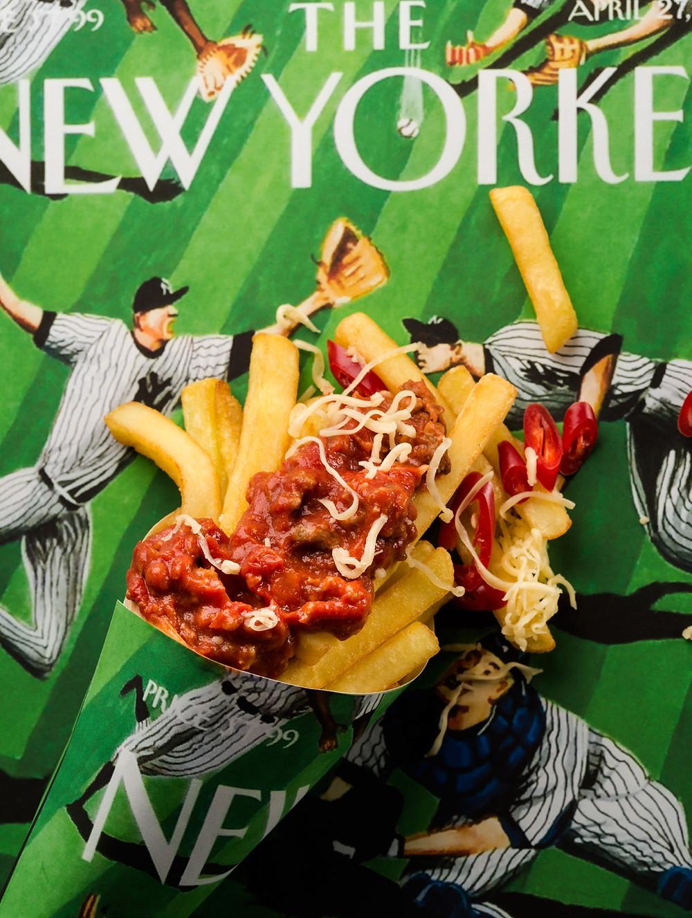 gruzdintos bulvytės su mėsos padažu, Alfo receptai