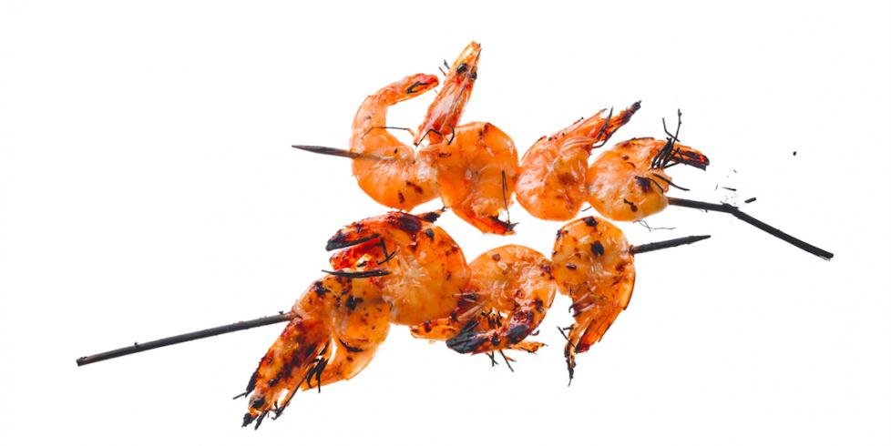 Keptos krevetės, vmg receptas