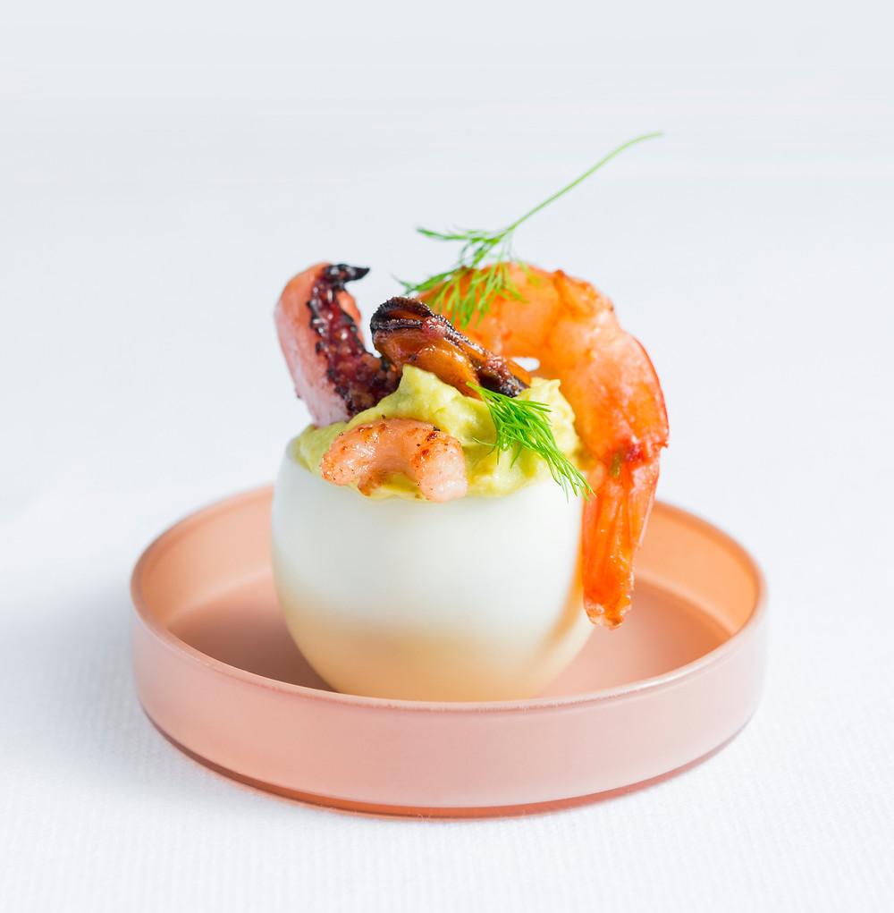 Idaryti kiaušiniai, Alfo receptas