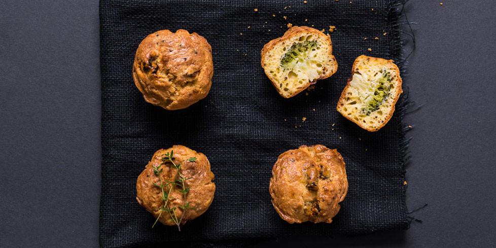 Keksiukai su brokoliais, vmg receptas