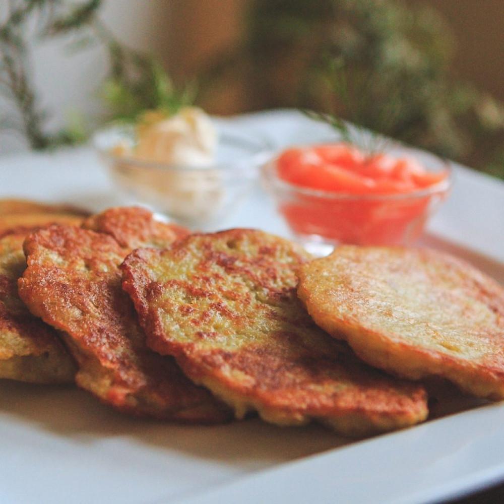bulviniai blynai, VMG receptas