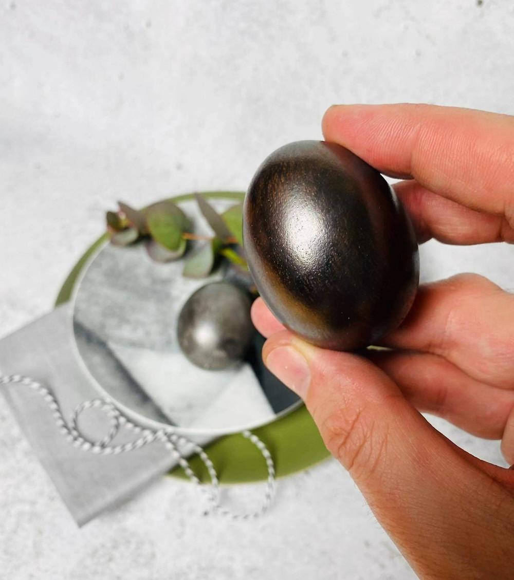 margutis, kaip dažyti kiaušinius. Alfo patarimas, juodojo perlo spalva