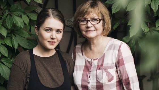 """Monika ir Jūratė (""""Porcijos"""" nuotr.)"""