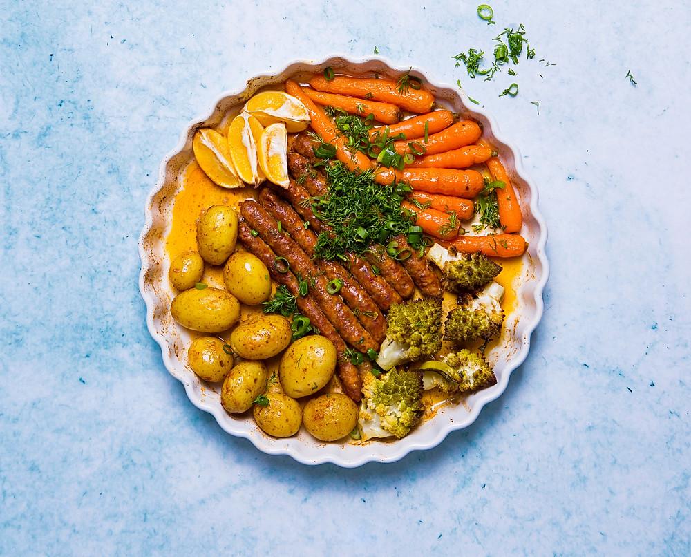 Dešrelės su daržovėmis, VMGonline receptai