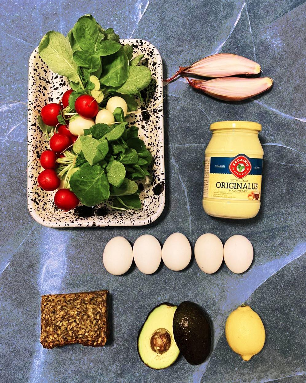 valgomas daržas, Alfo receptas