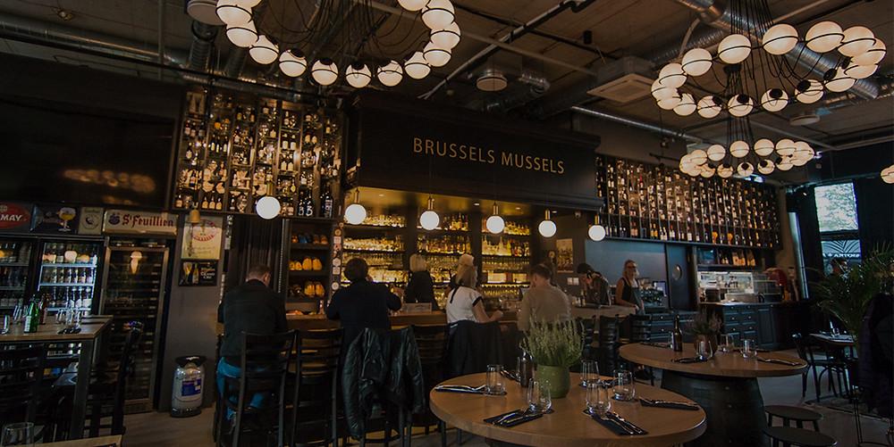 Brussels Mussels restoranas, VMGonline.lt