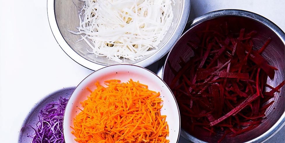 Korėjietiškos daržovės: karštasis būdas, vmg receptas