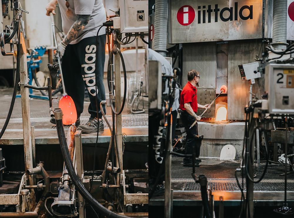 """""""iittala"""" fabriko Suomijoje užkulisiai. Valerijos stonytės nuotr."""