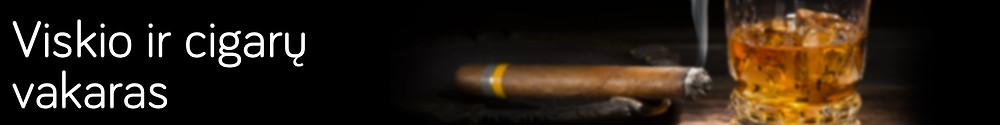 Viskio ir cigaru vakaras