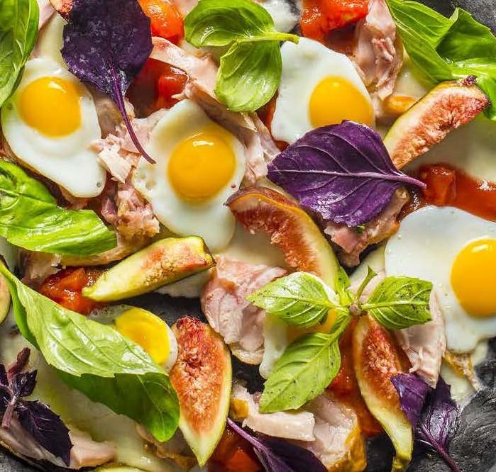 keptas kiaušinis, Alfo receptas