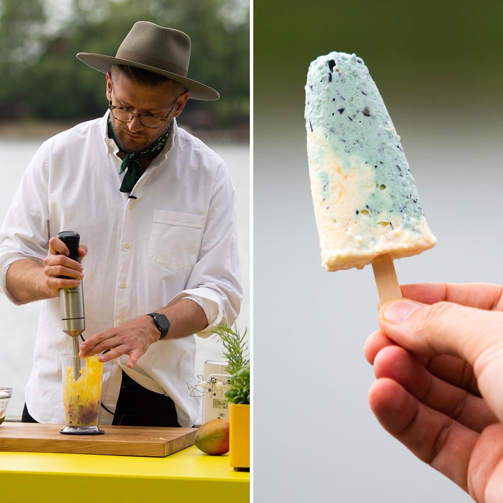 naminiai ledai su manais, Alfo Ivanausko receptas