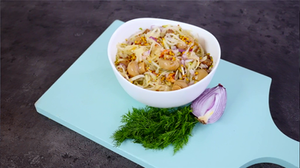 Vokiškos kopūstų salotos, vmg receptas