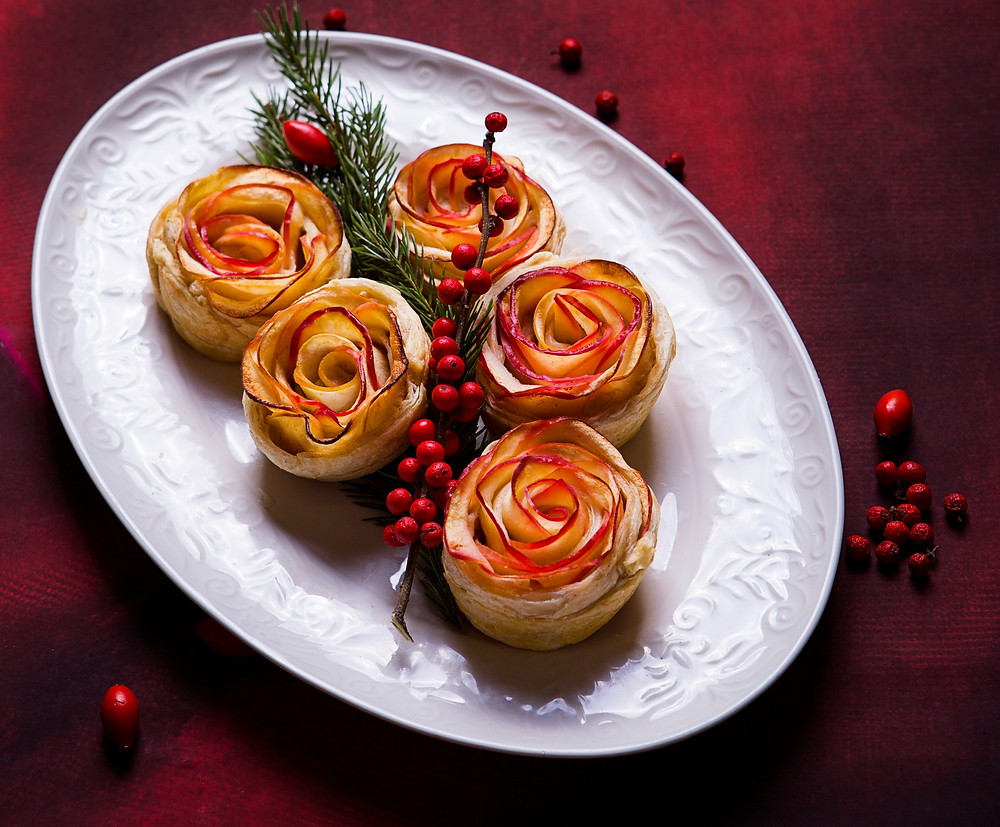 Obuolių rožių pyragėliai, VMGonline.lt