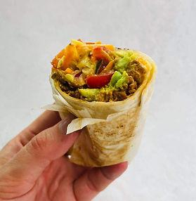 Sultingas vegetariškas naminis kebabas