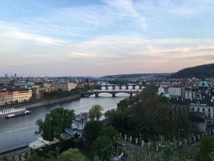 Praha, Letna parkas.