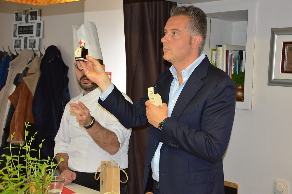 """Massimo Melpighi pristato balzaminius actus (""""Kulinarijos studijos"""" nuotr.)"""