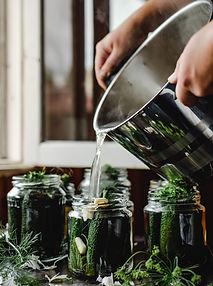 Traškūs marinuoti agurkėliai pagal žurnalistės  Daivos Žeimytės-Bilienės mamos receptą