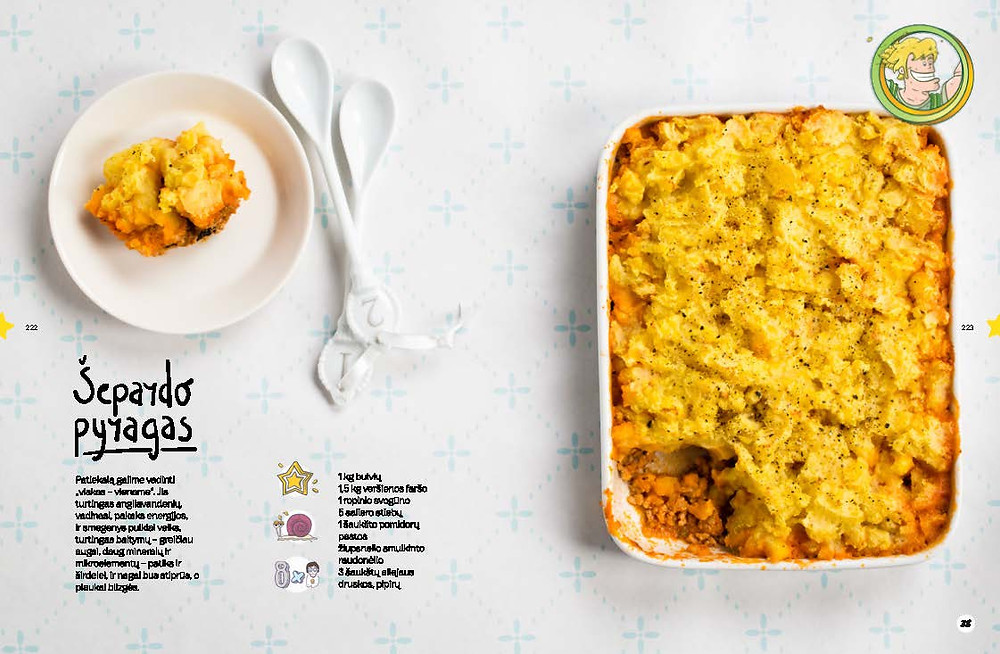piemenėlių pyragas, šepardo pyragas, bulvių apkepas, bulvių patiekalai, Alfo receptai