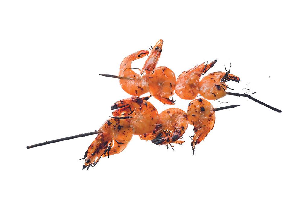 Krevečių užkandis per 10 minučių, vmg receptas