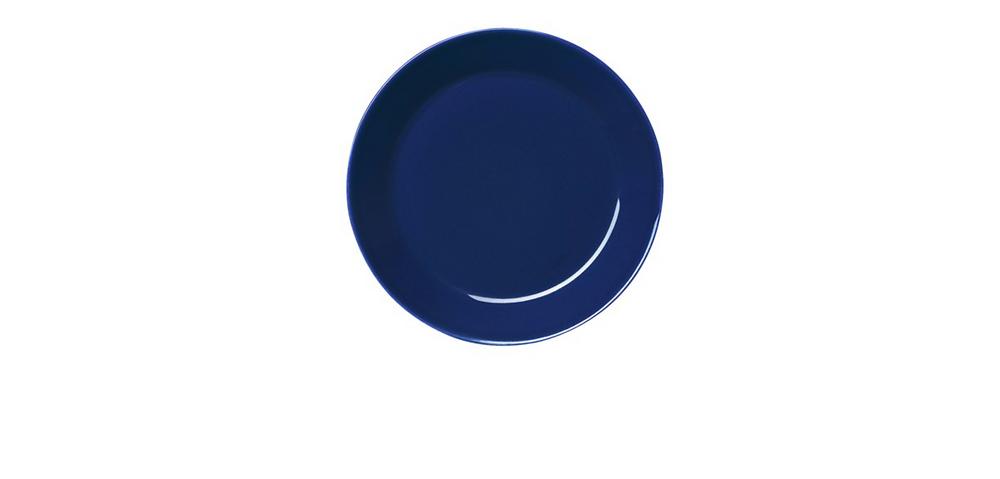"""Mėlyna """"Teema"""" lėkštė (""""iittala"""" nuotr.)"""