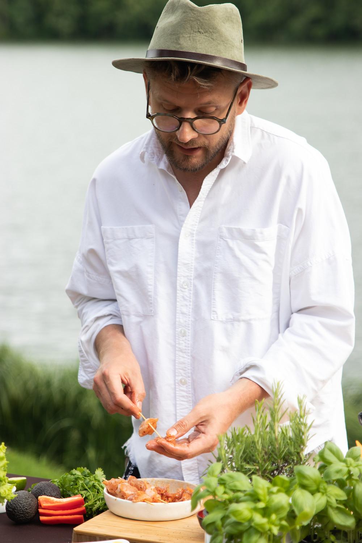 Alfas Ivanauskas, vištienos iešmeliai