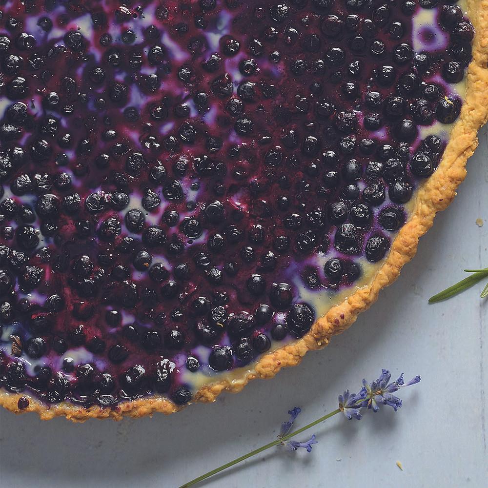 mėlynių pyragas, Alfo Ivanausko receptas