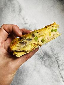Sultingas tortilijų apkepas su vištiena ir pievagrybiais – vos per 10 min.