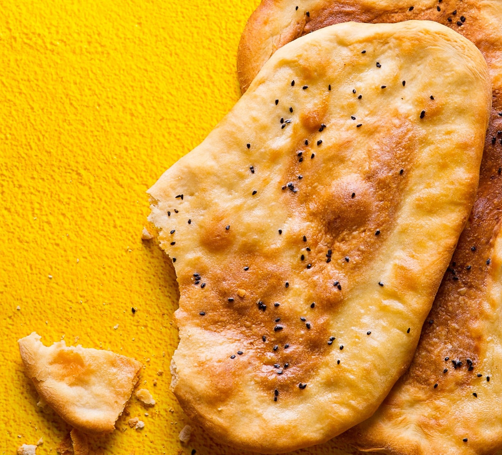 naan duonelė, receptas