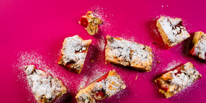 Greitas braškių pyragas, vmg receptas