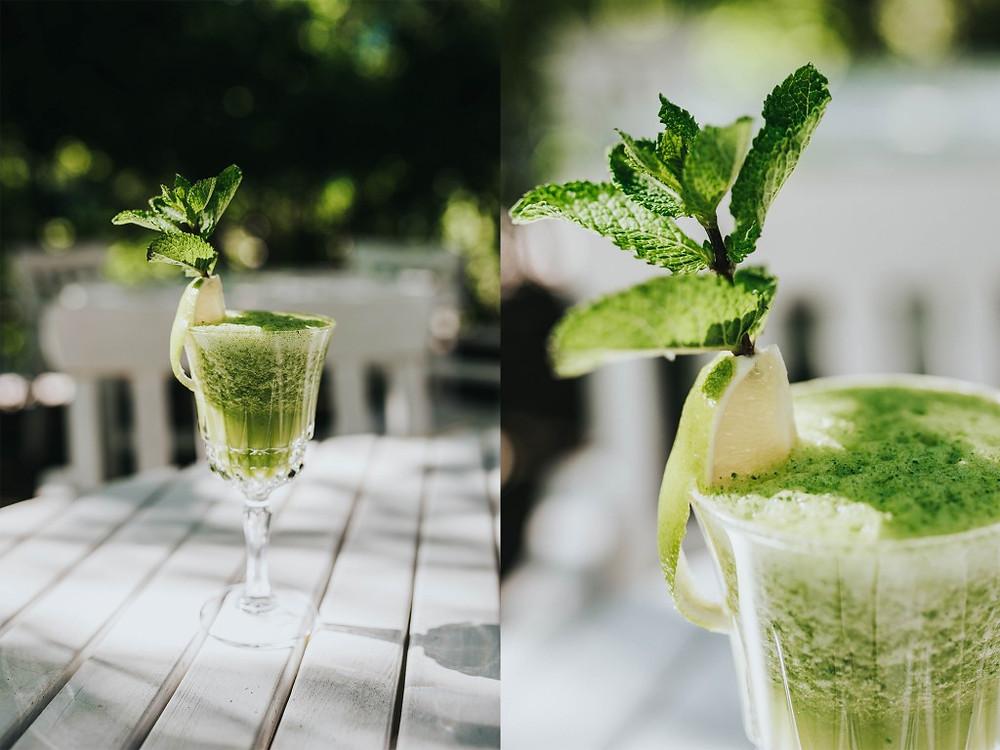 Žaliasis kokteilis - 3 Eur. (Valerijos Stonytės nuotr.)