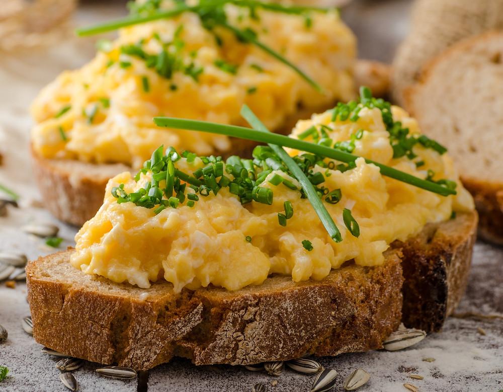 Plakta kiaušinienė, Alfo receptas