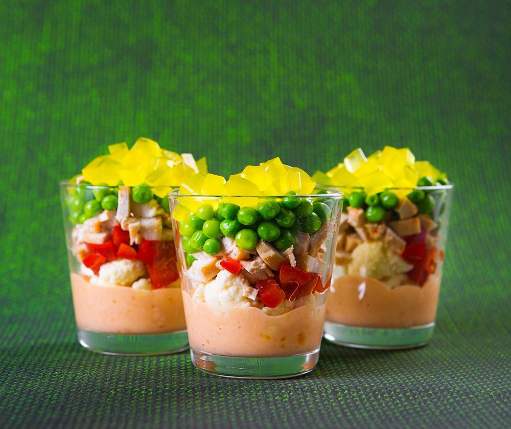 Vištienos ir žiedinių kopūstų mišrainė, VMGonline receptai