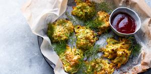 Cukinijų ir morkų sklindžiai, vmg receptas