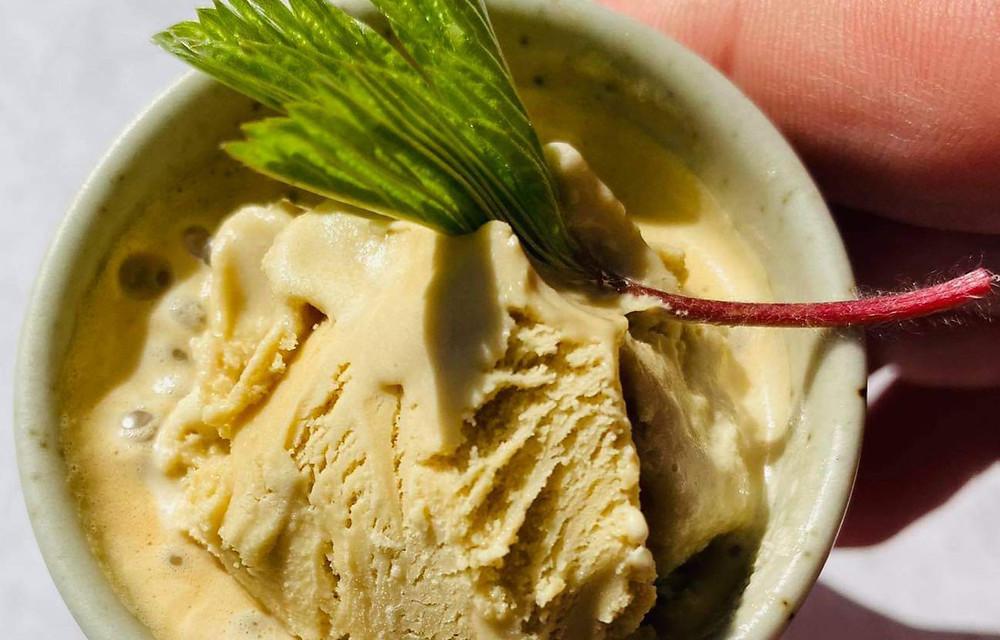 ledų ir kavos skanėstas, Alfo Ivanausko receptas